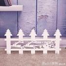 木質木頭聖誕樹柵欄圍欄白色環保道具場景布置擺件裝飾用品配件