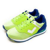 LIKA夢 PONY  繽紛韓風復古慢跑鞋 SOLA-T 夜光世代系列 螢黃藍 51M1SO78YW 男 6折好康