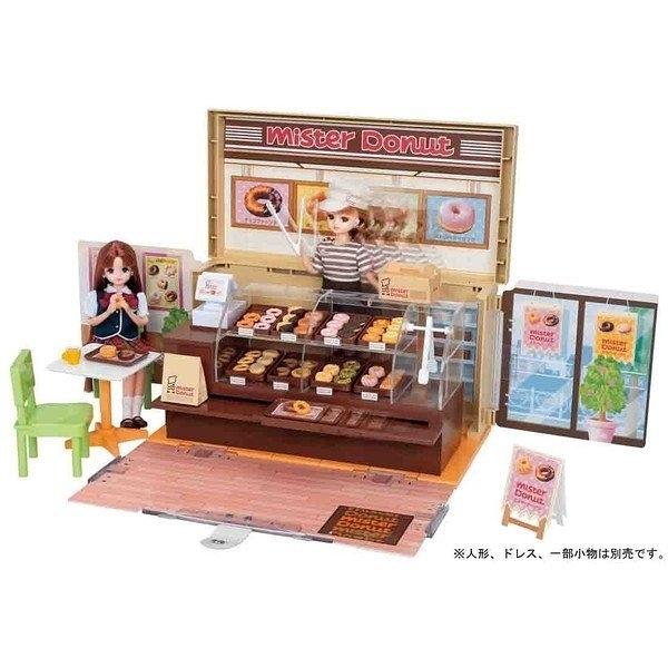 Licca 莉卡娃娃Mister Donut 甜甜圈禮盒組 LA87725 TAKARA TOMY(附莉卡娃娃一隻)