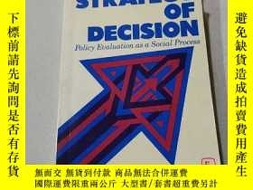 二手書博民逛書店A罕見STRATEGY OF DECISION:決策策略(外文)