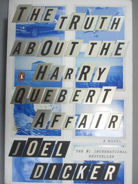 【書寶二手書T1/原文小說_NPG】The Truth About the Harry Quebert Affair_Joel Dicker