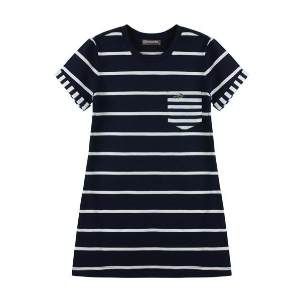 『小鱷魚童裝』經典條紋洋裝(08號~16號)533358