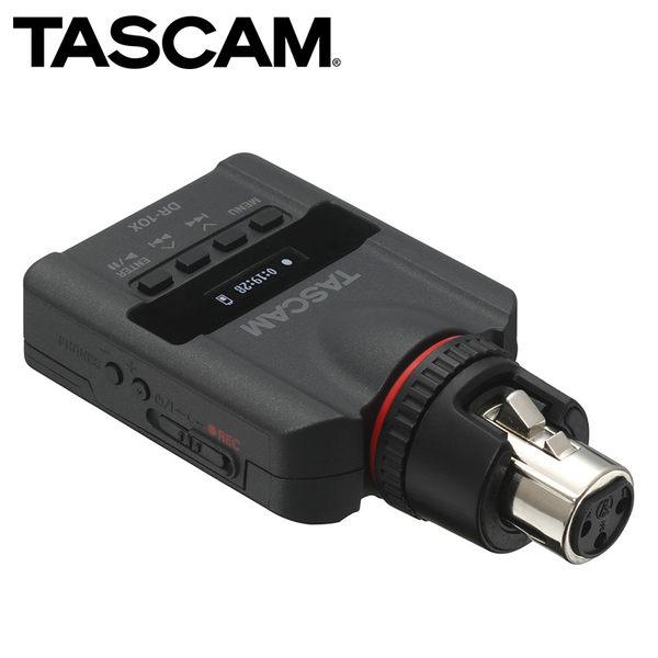 ◎相機專家◎ TASCAM 達斯冠 DR-10X 數位錄音機 XLR Linear PCM Recorder 公司貨