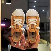 兒童帆布鞋女童鞋子軟底兒童布鞋男童板鞋百搭女童小白鞋 俏腳丫