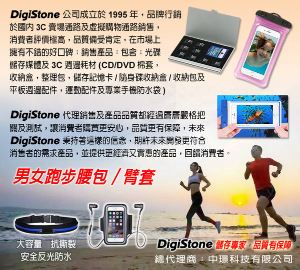 【免運費】DigiStone 2片裝 超薄型Slim鋁合金 多功能記憶卡收納盒(2CF)X1P【鋁合金外殼】【防靜電EVA】