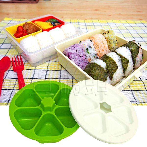 日本製Madre六格三角飯團壓模 海苔御飯糰壽司飯糰模具壽司模野餐創意便當
