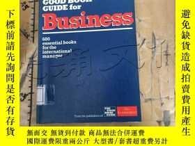 二手書博民逛書店The罕見Good Book Guide For Busines