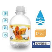《丹楓之水》麥飯石礦泉水(250mlx24入) $120/箱【海洋之心】