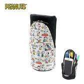 【日本正版】史努比 SMA-STA 磁吸 直立式筆盒 筆筒 鉛筆盒 桌面置物筒 Snoopy PEANUTS - 565385