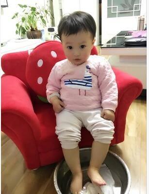 小沙發可愛草莓公主寶寶沙發幼幼稚園沙發組合(單人送1個抱枕)-炫彩腳丫折扣店