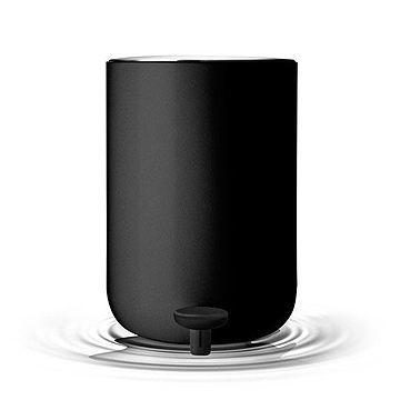 丹麥 Menu Pedal Bin, Norm 衛浴系列 踩踏式 垃圾桶 小尺寸(霧黑色)