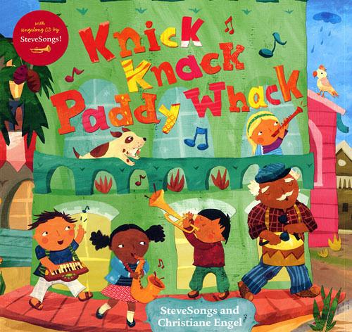 【麥克書店】KNICK KNACK PADDY WHACK /英文繪本附VCD《主題:數數/ 社會文化/樂器/音樂欣賞》