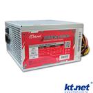 【鼎立資訊】KTNET 鋼鐵俠 3 400W 電源供應器 通過BSMI檢驗 12CM靜音風扇+鍍鉻鐵網