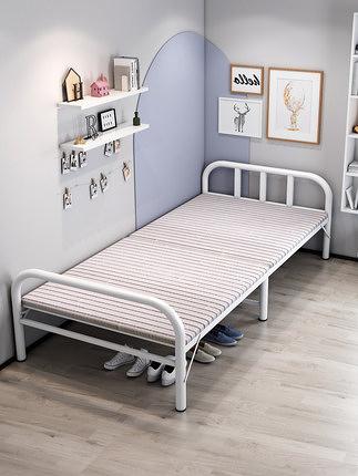 折疊床 家用單人床成人午休床簡易便攜辦公室午睡雙人木板床 一木良品