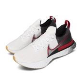 Nike 慢跑鞋 React Infinity Run FK 白 紅 男鞋 運動鞋 【ACS】 CW5245-100