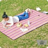 戶外便攜野餐墊防潮墊可折疊野餐布防水野炊地墊【小檸檬3C】