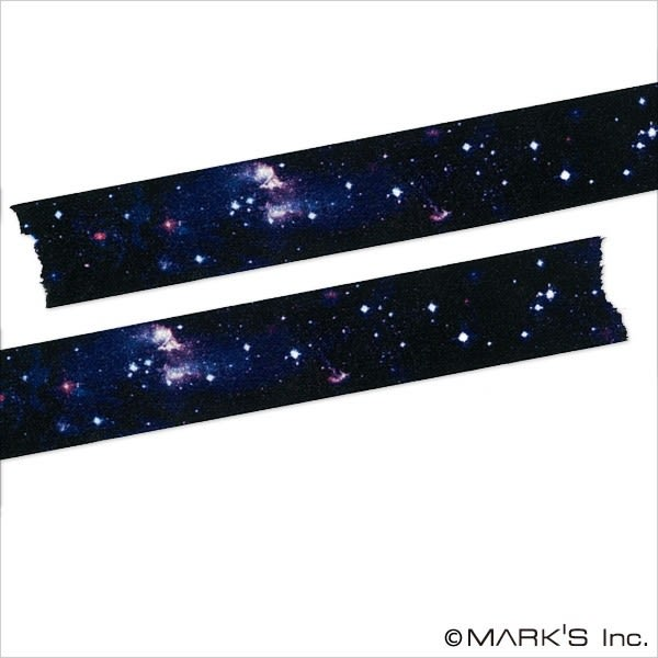 紙膠帶 SEIO 日本官方授權 Masté 日本製 和紙 紙膠帶 Multi cosmic 夜景星空