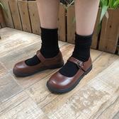 夏季洛麗塔日系軟妹小皮鞋學生原宿復古大頭鞋可愛娃娃鞋女鞋 潮流前線
