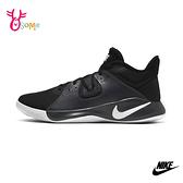NIKE FLY.BY 成人男女款 籃球鞋情侶運動鞋 P7235#黑色◆OSOME奧森鞋業
