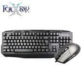 【FoxXRay 狐鐳】爆裂戰狐電競鍵盤滑鼠組 FXR-CKM-07