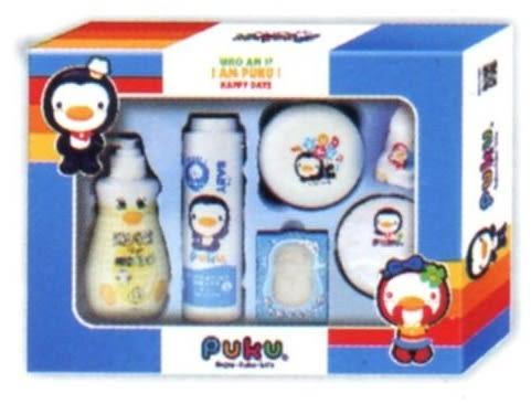 藍色企鵝 沐浴保養禮盒組-E P17918-899