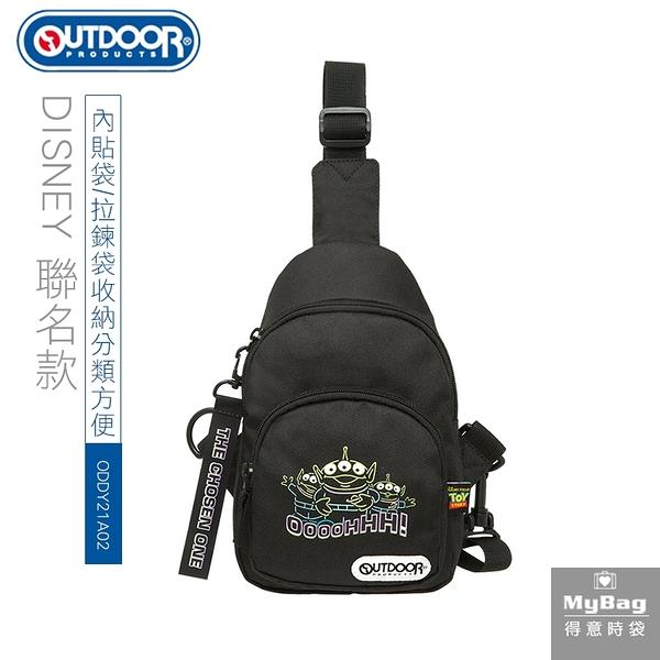 OUTDOOR x DISNEY 單肩包 玩具總動員聯名款 TOYS 霓虹 三眼怪 斜背包 ODDY21A02 得意時袋
