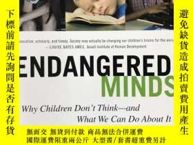 二手書博民逛書店Endangered罕見MindsY340962 Jane M. Healy Simon & Schu