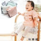 兒童九分褲男女童嬰幼兒打底褲網眼加檔寶寶