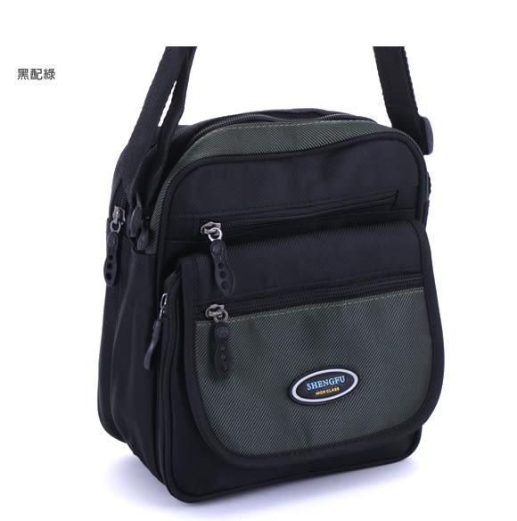 DF BAGSCHOOL - 運動休閒風多層收納隨身側背包