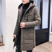 外套冬季棉衣男士中長款韓版新款外套羽絨棉服潮流帥氣冬裝棉襖子
