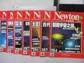 【書寶二手書T9/雜誌期刊_QMN】牛頓_184~190期間_共7本合售_解開宇宙之謎等