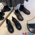 皮鞋 英倫風小皮鞋女軟皮2021新款韓版百搭黑色百搭日系JK秋冬加絨單鞋 618狂歡