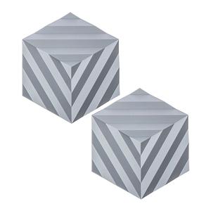 (組)2入丹麥ZONE FOLD系列幾何矽膠鍋墊-晴空藍