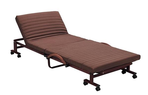 【南洋風休閒傢俱】臥室系列-折疊式單人沙發床 醫院陪床 收合式單人鐵床  SY057-2