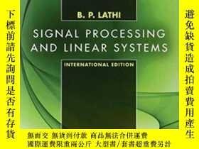 二手書博民逛書店Signal罕見Processing And ar System