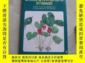 二手書博民逛書店Breeding罕見Anthuriums in Hawaii 精