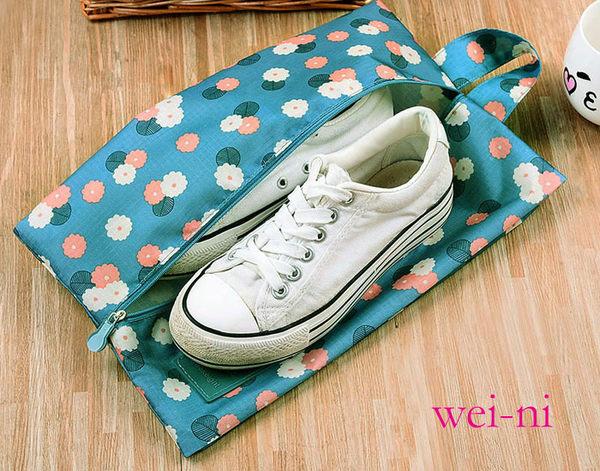 wei-ni 手提WeekEight鞋子收納袋 旅行收納包 旅遊整理袋 露營收納包 多功能萬用袋