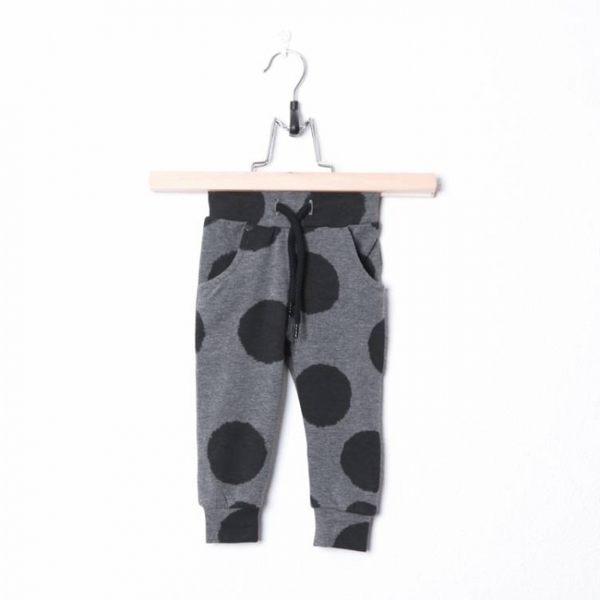 長褲 荷蘭 LUCKY NO.7 灰色大點點長褲 / 褲子