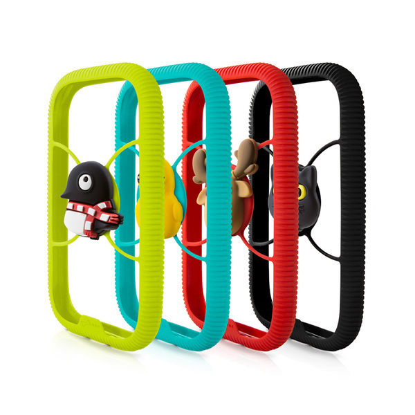 【Bone】環形手機綁 Phone RingTie - 防手滑輕薄手機框-企鵝小丸