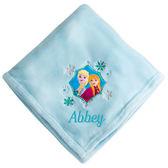 美國迪士尼 女寶寶 嬰兒毯子 四季被 安娜艾莎【DI6504047390567】