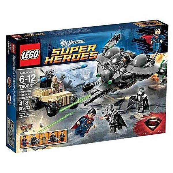 LEGO 樂高 超級英雄系列 Superman Battle of Smallville 76003