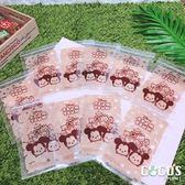 正版授權 迪士尼 TSUMTSUM疊疊樂 密封造型夾鏈袋 封口袋 密封袋 收納袋 10入 COCOS AJ029