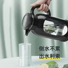 冷水壺玻璃耐熱高溫防爆水瓶家用大容量涼白開水杯茶壺防摔涼水壺  一米陽光