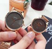情侶對錶 韓版學生潮簡約大方鋼帶復古超薄防水森女系 sxx3097 【雅居屋】