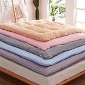 加厚床墊床褥子1.5m1.8m米可折疊榻榻米雙人單人學生宿舍墊被 英雄聯盟igo