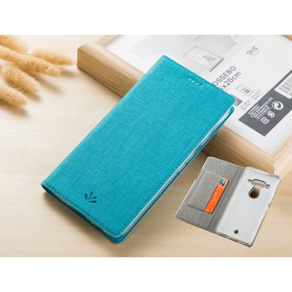 HTC U12 Plus 翻蓋手機殼 布紋隱形磁扣手機殼 內透矽膠軟殼 全包保護殼 十字紋手機殼 卡片式