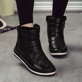 雪地靴女冬新款加絨保暖防滑學生潮短靴防水棉鞋女短筒靴子   多莉絲旗艦店
