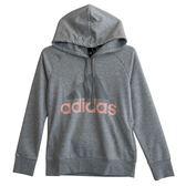 Adidas 愛迪達 ESS LIN OH HD  連帽長袖上衣 CZ5729 女 健身 透氣 運動 休閒 新款 流行
