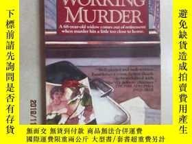 二手書博民逛書店WORKING罕見MURDER 共166頁 詳見圖片Y15969 出版1992