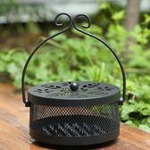 創意蚊香架蚊香盤托蚊香盒帶蓋防火家用室內蚊香爐托盤香爐 亞斯藍生活館